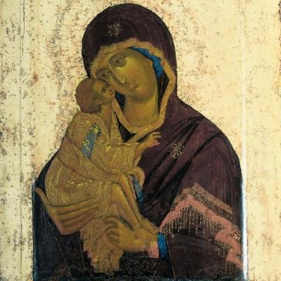 Выставка одного шедевра: Феофан Грек. Икона «Богоматерь Донская»