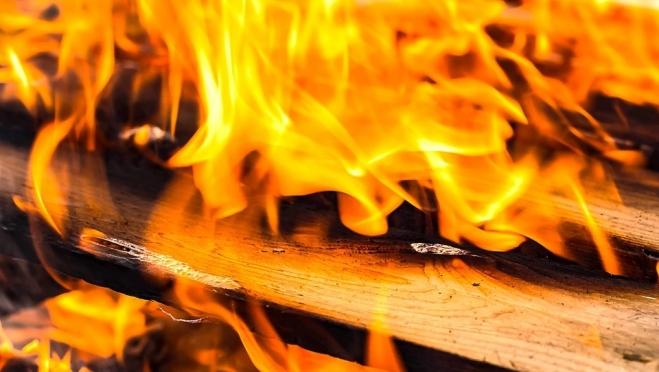 В Йошкар-Оле на пожаре погиб человек