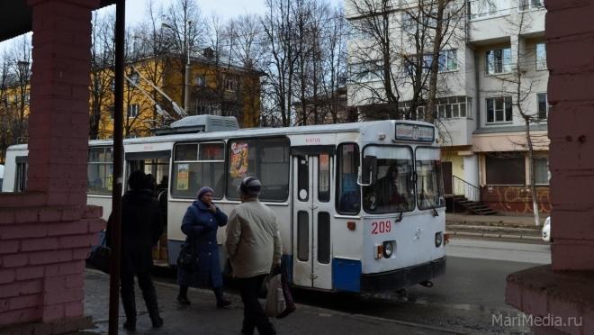 В Йошкар-Оле изменилась схема движения троллейбуса № 10