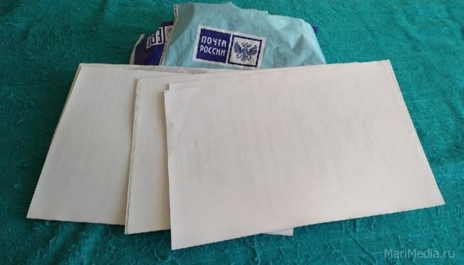 Жительница Йошкар-Олы вместо оренбургских платков получила бумагу