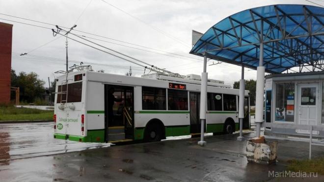 В троллейбусах Йошкар-Олы до ноября подешевеет проезд