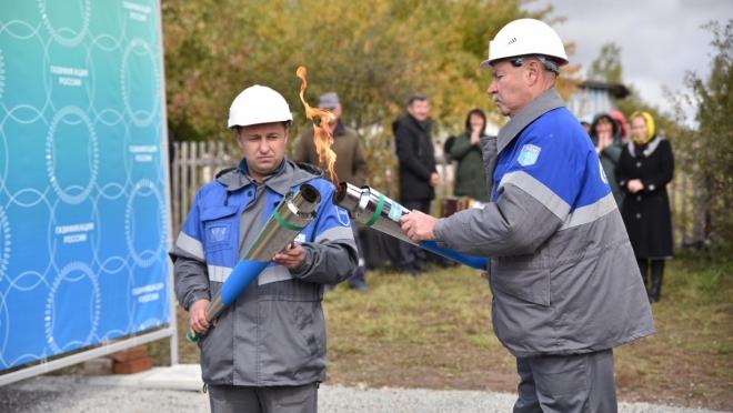 Три деревни в Куженерском районе подключены к газовым сетям