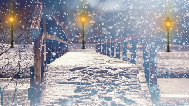 В новогоднюю ночь в Марий Эл будет идти снег