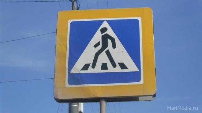 Половина всех наездов на пешеходов происходит в Йошкар-Оле