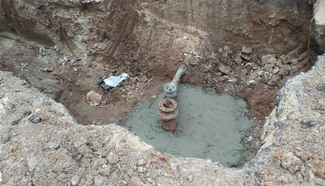 В посёлке Новый Торъял произошла авария на водопроводе