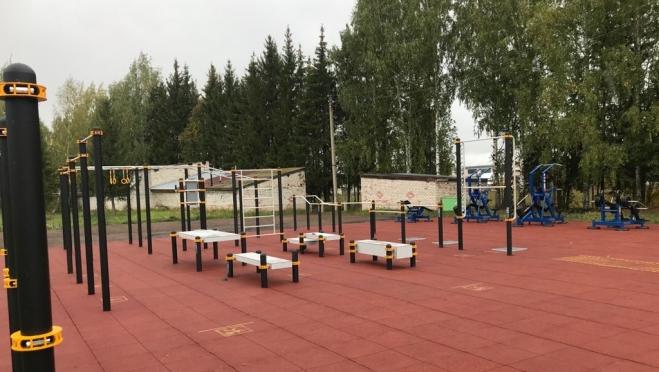 В Оршанке и Волжске оборудуют спортивные площадки