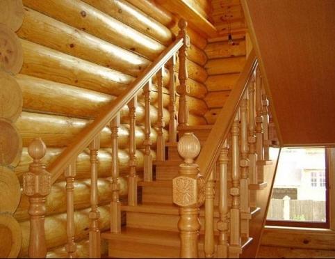 Лестницы в интерьере загородных домов