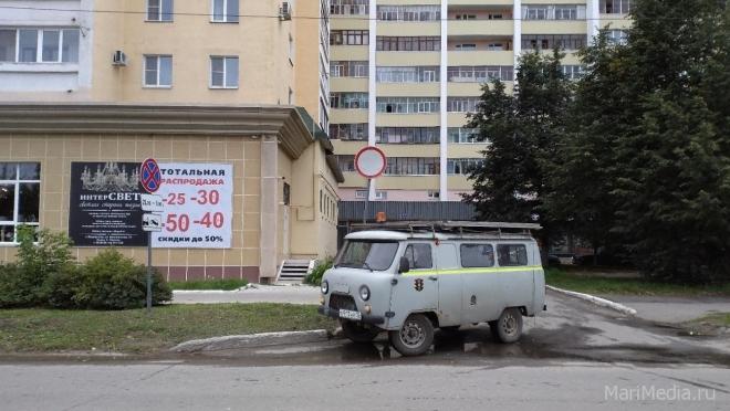 В Йошкар-Оле демонтируют дорожные знаки «Движение запрещено»