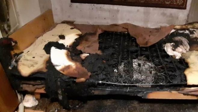 В Марий Эл в выходные на пожаре погиб мужчина