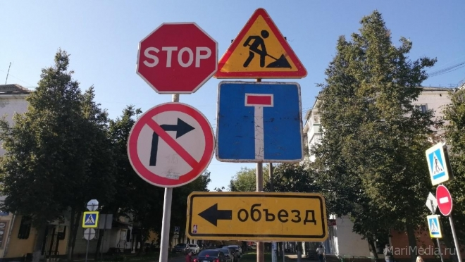 В Йошкар-Оле на 3 дня перекрыли улицу Эшпая