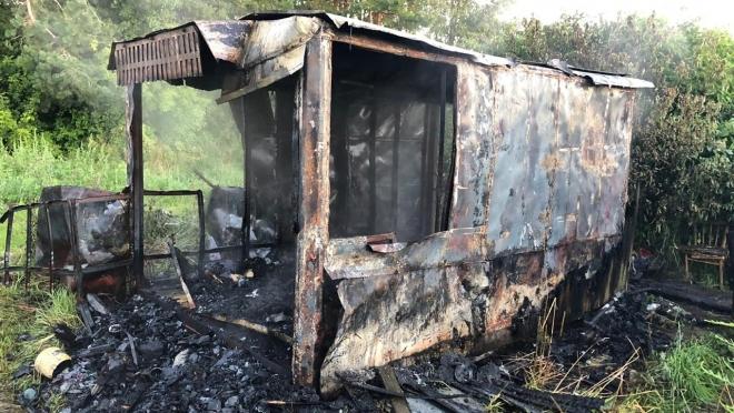 В Марий Эл на пожаре погибло 2 человека