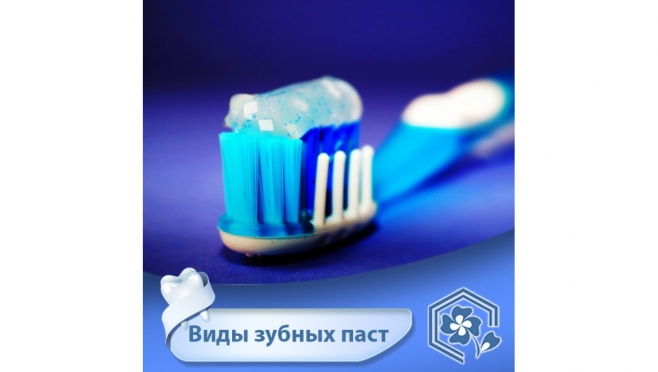 Виды зубных паст