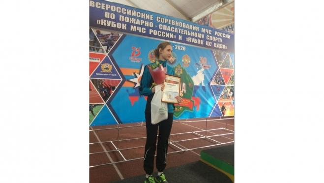 Школьница из Волжска завоевала «серебро» на Всероссийских соревнованиях МЧС