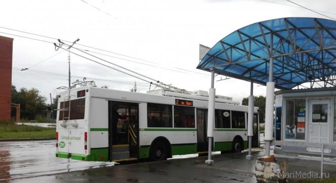 В Йошкар-Оле меняется схема движения троллейбусных маршрутов №3 и №5