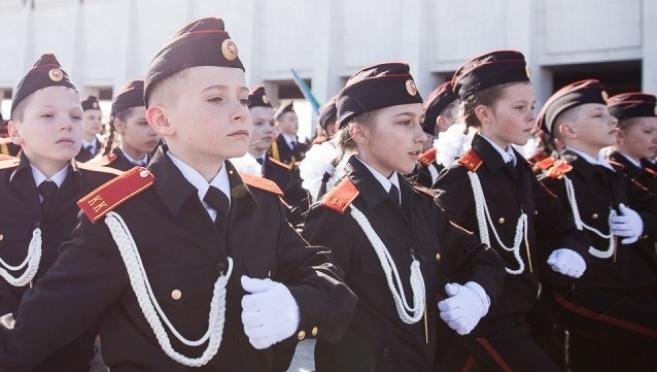 В Пензенской области кадеты называют учителей «господами»