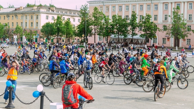 В Йошкар-Оле на парад выйдут около тысячи велосипедистов