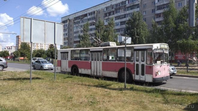 В Йошкар-Оле временно изменена схема движения троллейбусов №№ 2, 8