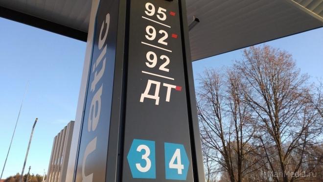 В Марий Эл цены на бензин с начала года выросли на 7,5%