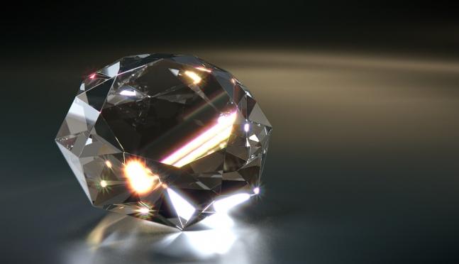 В России найден уникальный алмаз-матрёшка