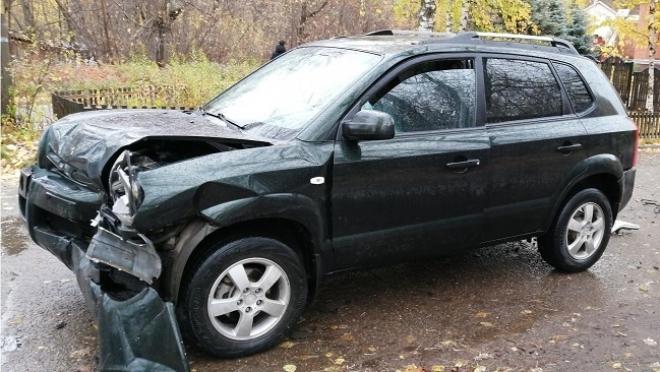 В Волжске столкнулись две Hyundai, пострадала 7-летняя девочка