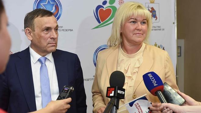 Марина Томилова оценила готовность Марий Эл к спартакиаде на  десять с плюсом
