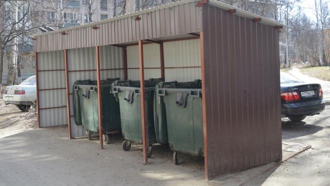 В Йошкар-Оле решили снести контейнерные площадки для мусора
