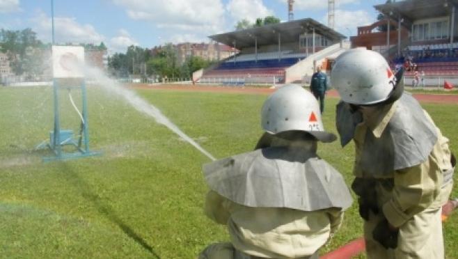 В Медведево съезжаются добровольные пожарные дружины