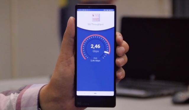 2,46 Гбит/с на 5G-смартфоне – миф или реальность