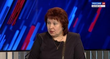 Россия 24. Интервью с Натальей Адамовой. 10.04.2020