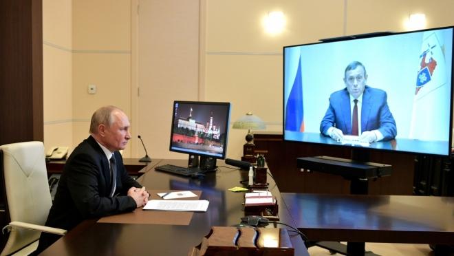 Владимир Путин провёл рабочую встречу с главой Марий Эл