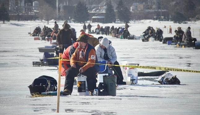 Зимнее хобби: и рыбку поймать, и здоровье не угробить