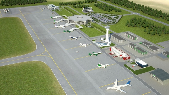 Что представляет собой поверхностный водоотвод в аэропортах