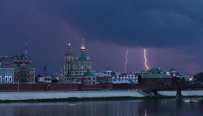 В День России в Марий Эл прогремят грозы