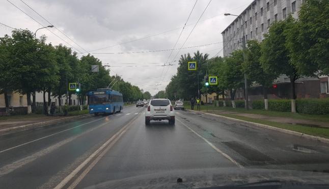 На Ленинском, 40 — заработал светофор