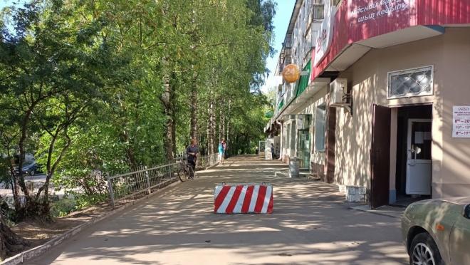 В Йошкар-Оле у магазинов установят бетонные блоки