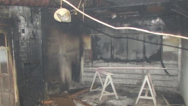 На фабрике детской мебели сгорел малярный цех в Йошкар-Оле