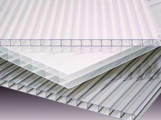 Прозрачный поликарбонат, толщина - 4, 6, 8, 10 мм. В нарезку от 1 пог.метра.