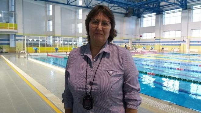 Директор СШОР по плаванию удостоена высокого звания