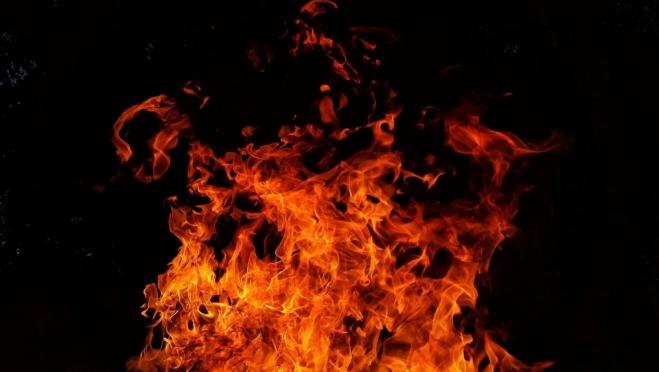 В Юркино местные жители не смогли вынести из горящего дома односельчанина