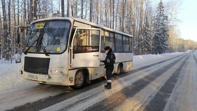 Госавтоинспекторы Марий Эл проверили 70 автобусов