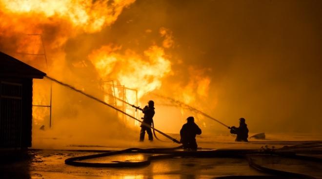 В Волжске на пожаре погиб мужчина