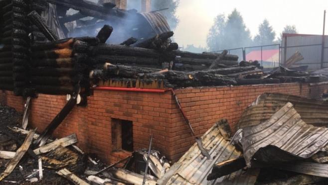В Марий Эл на пожаре погибло двое мужчин
