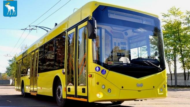 Осенью в Йошкар-Оле будут кататься новые белорусские троллейбусы
