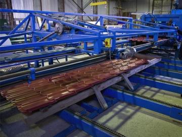 Производство металлочерепицы Монтеррей
