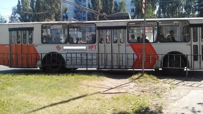 В Йошкар-Оле изменилась схема движения троллейбусов №№ 10 и 11