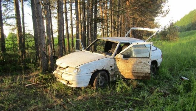 В Советском районе пьяный водитель на «ВАЗ-2114» перевернулся в кювет