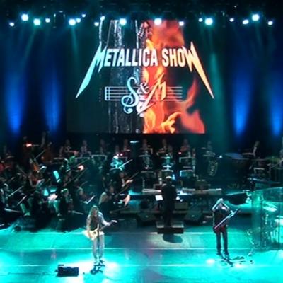 Metallica Show S&M Tribute