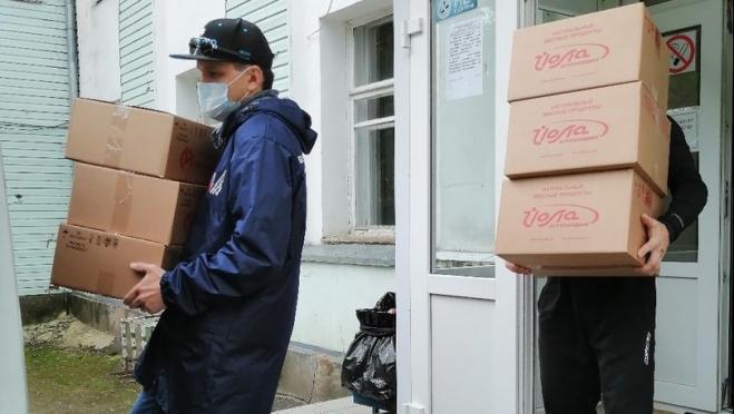 Малоимущие жители Йошкар-Олы получают бесплатно продовольствие
