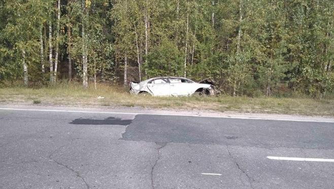 В Горномарийском районе разбился водитель иномарки