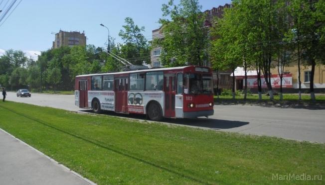 В Йошкар-Оле на линии выходят всё больше троллейбусов